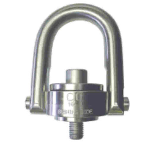 Crosby Stainless Steel Swivel Hoist Ring with Metric Thread