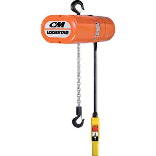 Yale Cpe 400v Electric Chain Hoist With Suspension Hook Or
