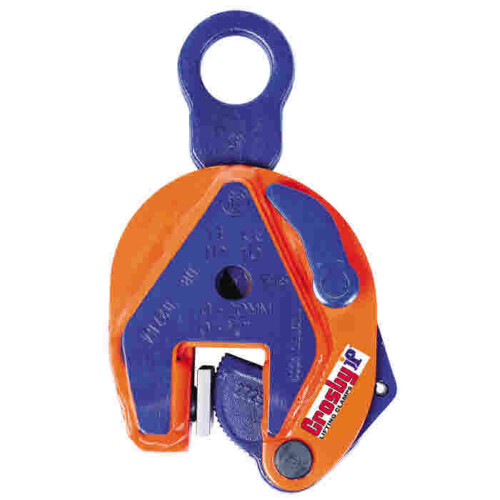 Crosby IP10S Vertical Lifting Clamp for Handling Stainless Steel