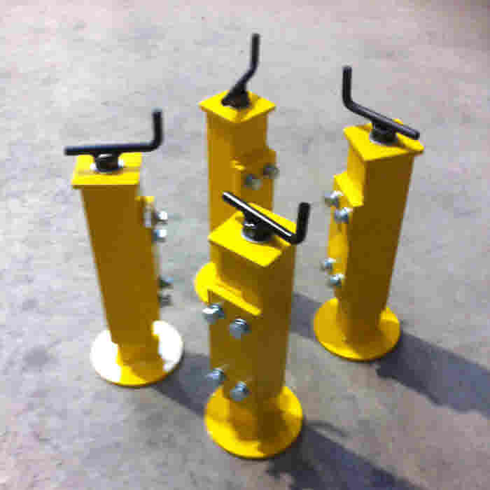 Parking Jacks for Mobile Gantry