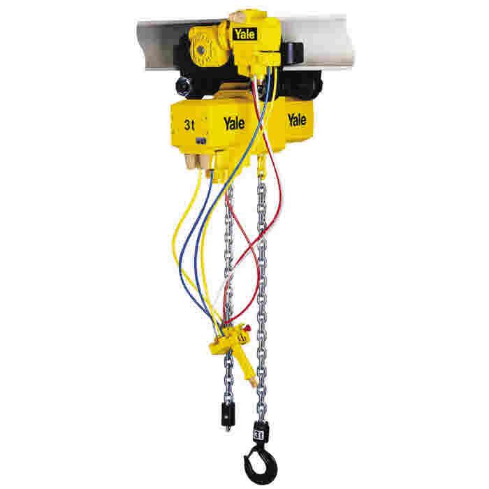 Yale CPA Pneumatic Chain Hoist 3t