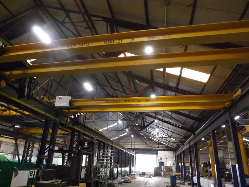 5t double beam overhead crane