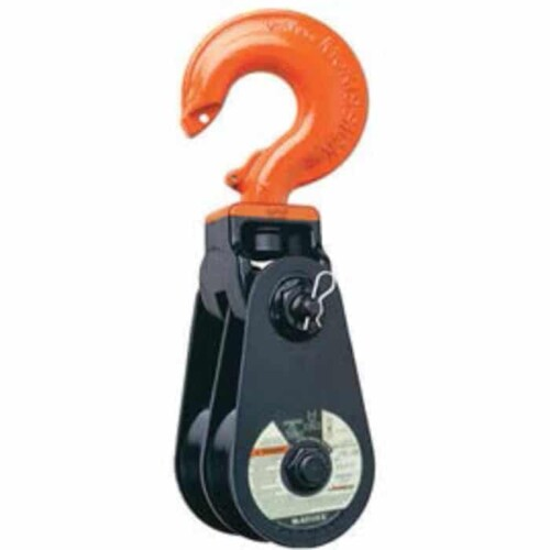 McKissick 408L Snatch Block with Hook & latch - Bronze Bushing