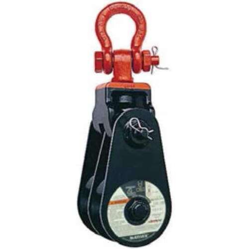 McKissick 409 Snatch Block with Shackle Bronze Bushing