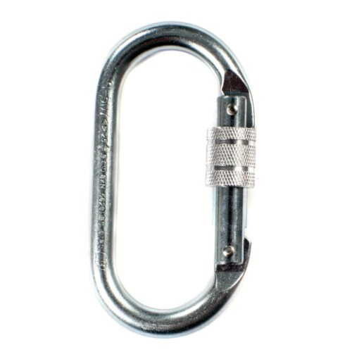 Ridgegear RGK1 19mm Screwgate Steel Karabiner
