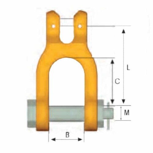 Gunnebo GSA Classic Clevis Shackle