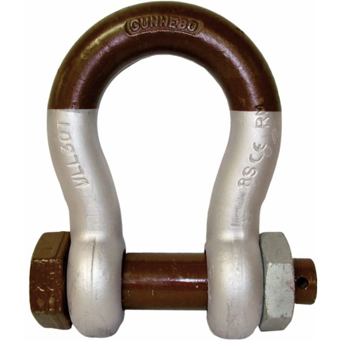 Gunnebo 858 Lifting Super Bow Shackle with Safety Bolt