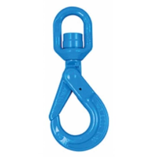 Yoke Grade 10 Swivel Self Locking Hook with Ball Bearing