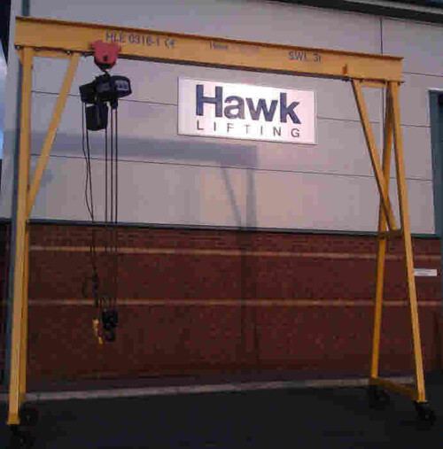Mobile Gantry complete with Electric Hoist